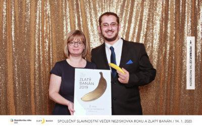 Slavnostní večer neziskových organizací – ocenění Neziskovka roku a Zlatý banán